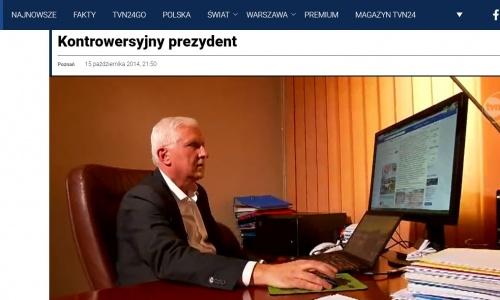 kontrowersyjny prezydent